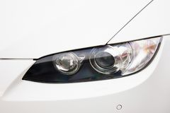 Samochodowi reflektory Luksusowi reflektory obraz royalty free