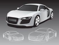 samochodowi sporty royalty ilustracja