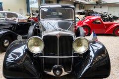 Samochodowi Tatrzańscy 80 od roku 1935 stojaków w Krajowym technicznym muzeum Obraz Royalty Free