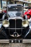 Samochodowi Tatrzańscy 80 od roku 1935 stojaków w Krajowym technicznym muzeum Obraz Stock