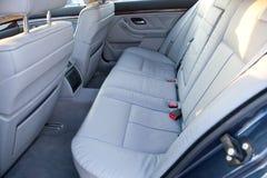 Samochodowi tylni siedzenia Fotografia Royalty Free