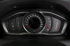 Samochodowi wewnętrzni deska rozdzielcza szczegóły Obrazy Royalty Free