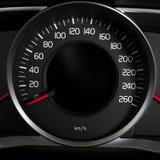 Samochodowi wewnętrzni deska rozdzielcza szczegóły Zdjęcie Royalty Free