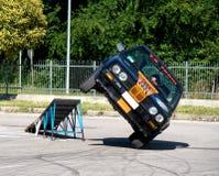 samochodowi wyczyn kaskaderski Zdjęcie Royalty Free