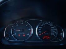 Samochodowi wymierniki Zdjęcia Stock