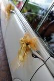 samochodowy ślub Zdjęcie Royalty Free