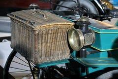 samochodowy antyczny trunk fotografia royalty free
