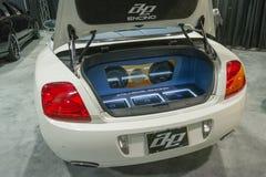 samochodowy audio system Zdjęcia Royalty Free