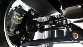 Samochodowy Axle Obrazy Royalty Free