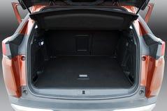 Samochodowy bagażnik fotografia royalty free
