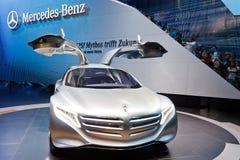 samochodowy benz pojęcie f125 Mercedes Zdjęcia Stock