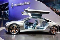 samochodowy benz pojęcie f125 Mercedes Obrazy Royalty Free