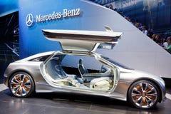 samochodowy benz pojęcie f125 Mercedes Zdjęcia Royalty Free