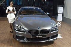 Samochodowy BMW 6er Obrazy Stock