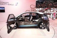 samochodowy Bmw pojęcie elektryczny i3 Obrazy Royalty Free