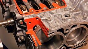 Samochodowy bokser naprzeciw silnika silnika Zdjęcie Royalty Free