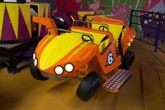 samochodowy carousel rozrywki park Obrazy Stock