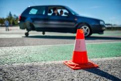 Samochodowy centrum szkoleniowe Obraz Royalty Free