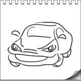 Samochodowy charakter Zdjęcia Royalty Free