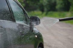 samochodowy czystości zakończenia pojęcie w górę domycia Zdjęcie Stock
