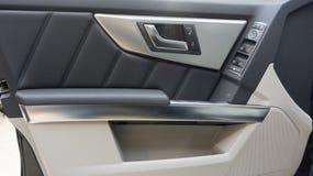 Samochodowy drzwi inside zdjęcia royalty free