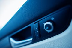 Samochodowy drzwiowy kędziorek Obrazy Stock