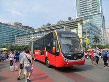 samochodowy dzień uwalnia Jakarta Zdjęcia Stock