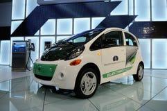 samochodowy elektryczny i Mitsubishi obraz stock