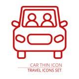 samochodowy eps10 ikony ilustraci wektor samochodowa ikona na szarym tle również zwrócić corel ilustracji wektora Ilustracji