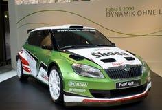 samochodowy Fabia biegowy s2000 przedstawienie skoda Zdjęcie Royalty Free