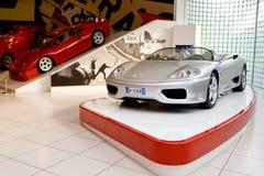 samochodowy Ferrari grey sport obrazy royalty free