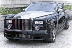 samochodowy fikcyjny bogactwo stacza się royce Obraz Royalty Free