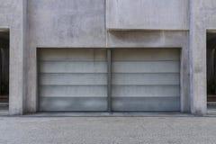 samochodowy garaż dwa Obraz Royalty Free