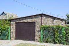 Samochodowy garaż panwiowy metalu profil Zdjęcie Stock