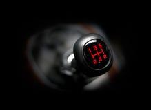 samochodowy gearstick Zdjęcia Royalty Free