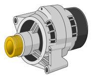 Samochodowy generator Zdjęcie Stock