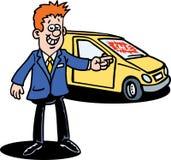 samochodowy handlowiec Zdjęcie Royalty Free