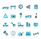 samochodowy ikon usługa transport royalty ilustracja