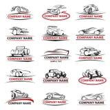 Samochodowy ikona set Obraz Royalty Free