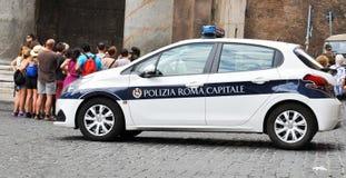 samochodowy Italy milicyjny Rome Zdjęcie Royalty Free
