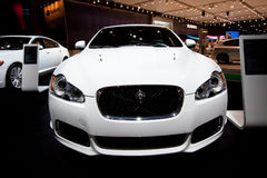 samochodowy jaguara sporta biel xk Fotografia Stock