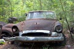 samochodowy junkyard zdjęcie stock