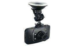 Samochodowy kamery kamera video odizolowywający Fotografia Royalty Free
