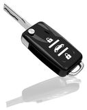 Samochodowy klucz ilustracji
