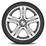 samochodowy koło ilustracji
