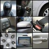 samochodowy kolaż obraz stock