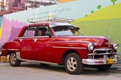 samochodowy kubański rocznik obraz stock