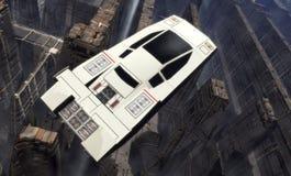 samochodowy latanie Zdjęcie Royalty Free