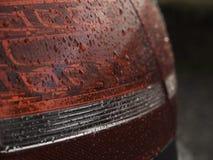 samochodowy lekki deszcz Obrazy Stock
