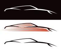 Samochodowy logo Zdjęcia Royalty Free